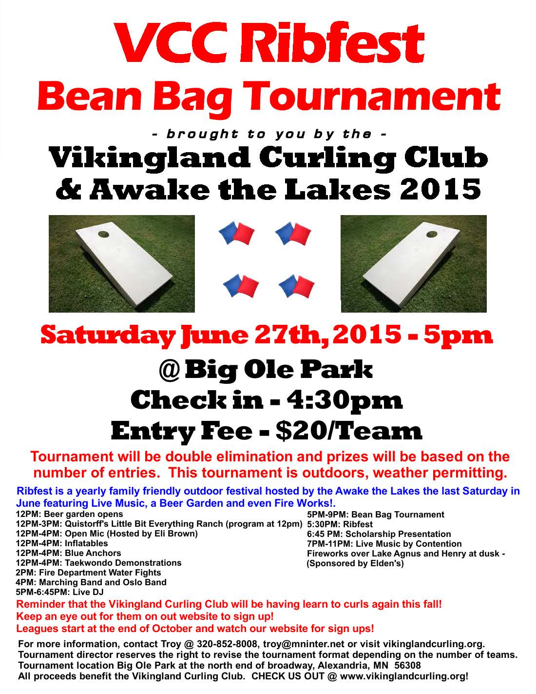 2015 VCC Ribfest Bean Bag Tourney v1